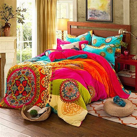 pin  mary cogan  home   bohemian bedding sets