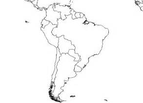 printable map south america south america blank map free images at clker