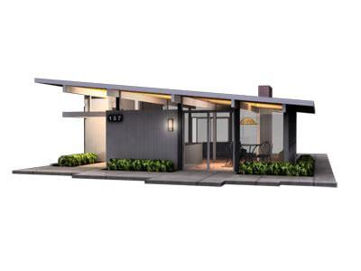 eichler models 3d model of joseph eichler home