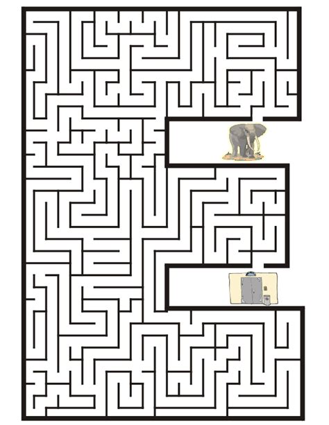 printable free mazes free kids maze coloring pages