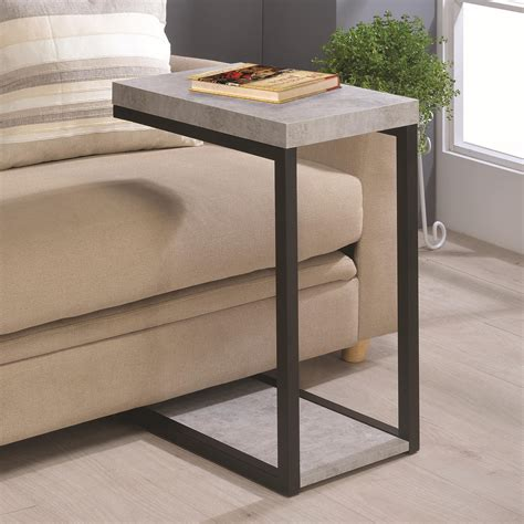 Sofa Snack Table Under Sofa Snack Table With Com 2017 And Sofa Accent Tables