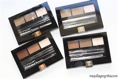 Maybelline Eyebrow Palette brow drama pro palette maybelline maquillage cynthia