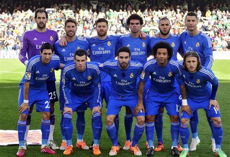 imagenes del real madrid todo el equipo 2015 ancelotti repite fotogaler 237 a marca com