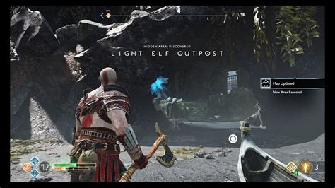 boat dock light elf outpost god of war light elf outpost guide how to open the chest
