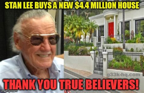 Stan Meme - stan lee buys new 4 4 million house in hollywood hills