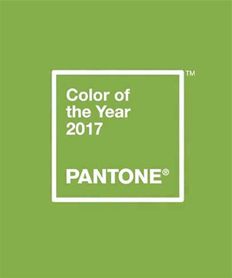 the pantone color of the year 2017 greenery