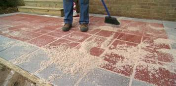 How To Lay Patio Bricks In Sand by Kabel Data Ilang Painted Pavers