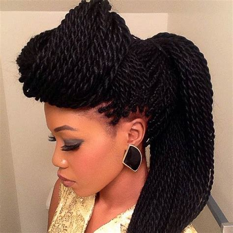 Hairstyles For Black Twist by 29 Senegalese Twist Hairstyles For Black Stayglam