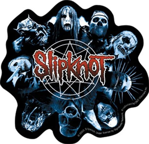 Photo Frames For Home Decor by Slipknot Band Faces Logo Sticker