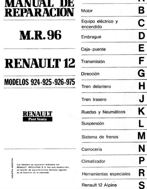 manual de prestaciones 2015 2017 sutconalep descargar manual de taller renault 12 zofti descargas