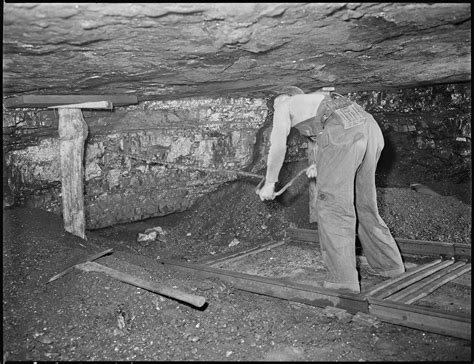 Coal L by File Harry Fain Coal Loader Drills Coal With Auger