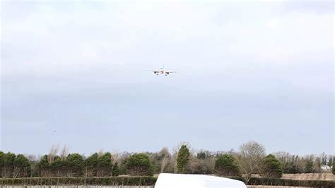 aborted dublin aer lingus aborted landing at dublin youtube