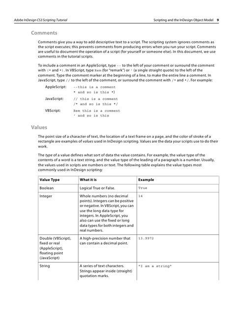 tutorial scripting indesign indesign cs3 scripting tutorial