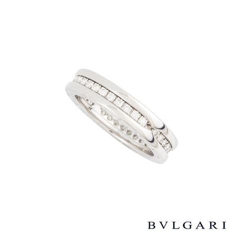 Bvlg White Set bvlgari 18k white gold set b zero1 ring an850656 rich diamonds of bond