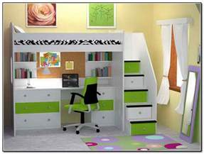 bunk bed with a desk bed design loft bed with desk underneath play