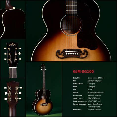 Sigma Jumbo sigma sg 100 jumbo electro acoustic vintage modern guitars