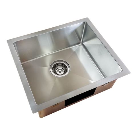 Bunnings Kitchen Sink Everhard Squareline Plus Single Bowl Kitchen Sink Bunnings Warehouse
