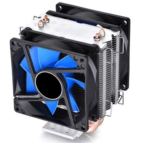 most quiet cpu fan dual fan cpu quiet cooler heatsink for amd fm2 fm1 am3 am3