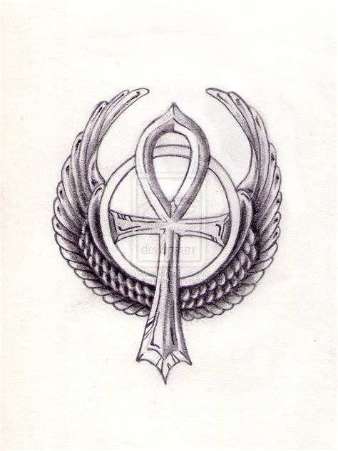 ankh tattoo by sebastiankreuz on deviantart