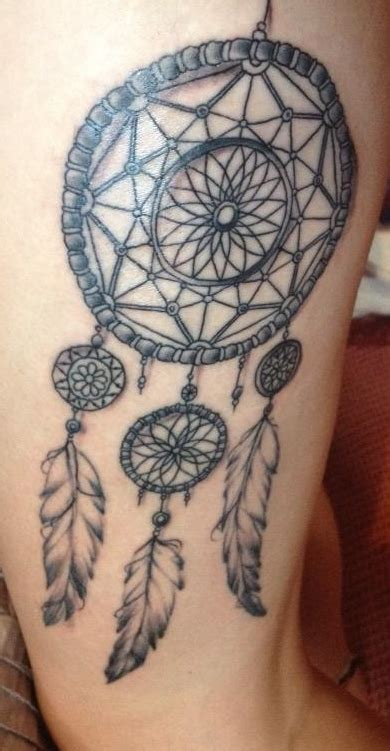 dreamcatcher tattoo with words design danielle flowers page 2
