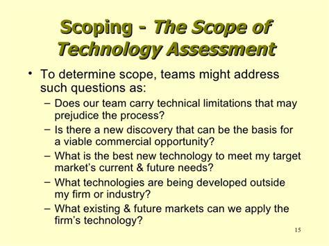 Um Mba Cost by Um Mba Program Technology Assessment Process