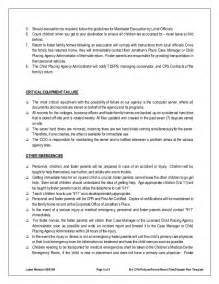Emergency Response Policy Template by Disaster Emergency Plan Template For Families