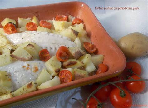 cucinare lo scorfano al forno ricerca ricette con scorfano al forno giallozafferano it