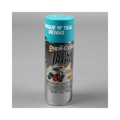 dupli color paint engine enamel with ceramic resin gloss torque n teal 12 oz ebay