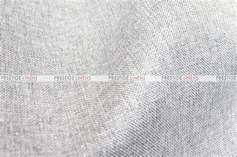 metallic linen fabric by the yard platinum prestige