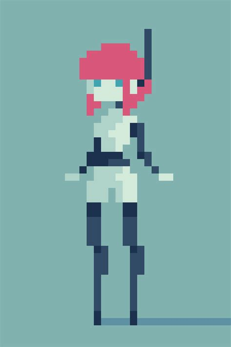 Drawing 8 Bit Characters by Pixel Pixel Characters Gaming