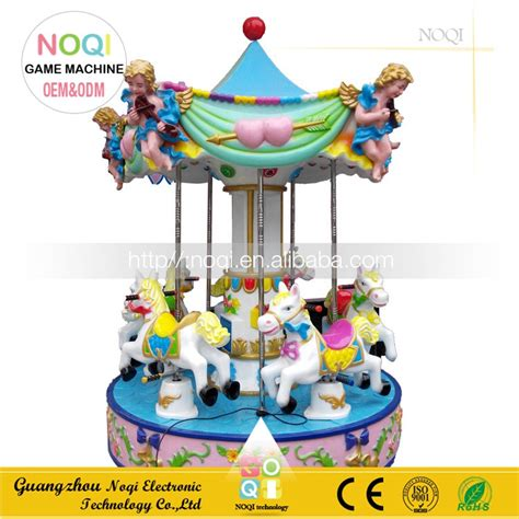outdoor carousel decoration noqi 5 seats amusement park outdoor