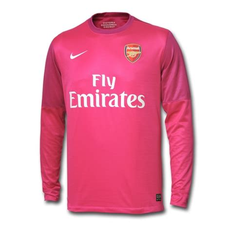 Jersey Arsenal Gk Home 11 12 new arsenal away goalkeeper kit 12 13 pink arsenal gk shirt 2012 2013 wojciech szczesny nike