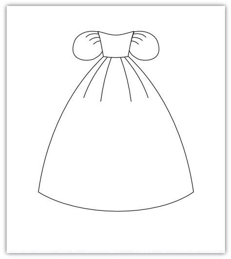 princess template imaginesque princess pattern ready to