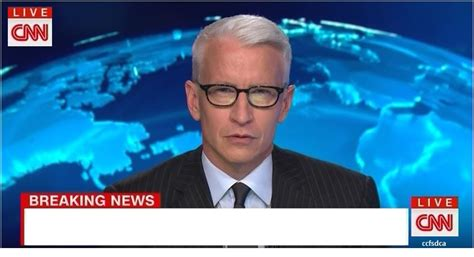 cnn news template cnn breaking news cooper blank template imgflip