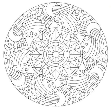 space mandala coloring pages 17 best images about mandalas on coloring