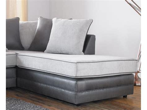 Silver Corner Sofa by Missouri Fabric Silver Corner Sofa