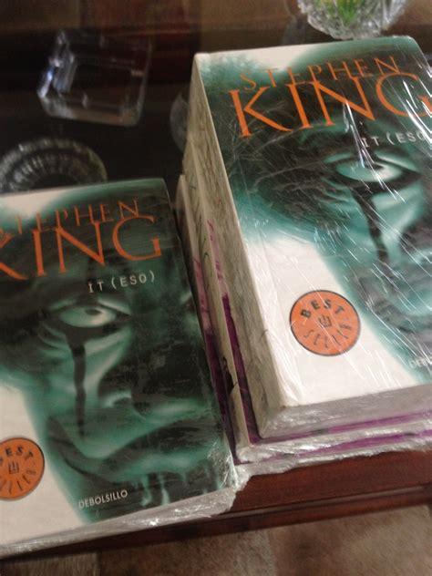libro it eso payaso maldito stephen king 18 990 en mercado libre