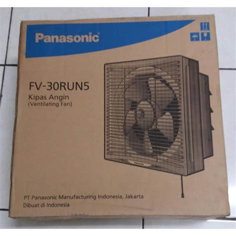 Kipas Angin Panasonic Fv 25run5 panasonic fv 30run5 kipas angin hisap elevenia