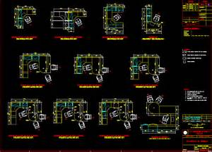 Office Chair Dwg 2d Offices 2d In Autocad Drawing Bibliocad