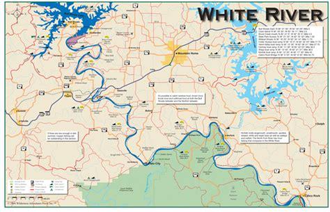 arkansas trout fishing maps pictures 26 innovative white river arkansas map swimnova