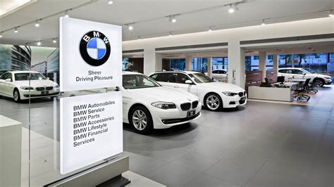 bmw showroom bmw showroom at jarunsanitwongse projects orbit design