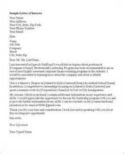 letter of interest for sorority sle links