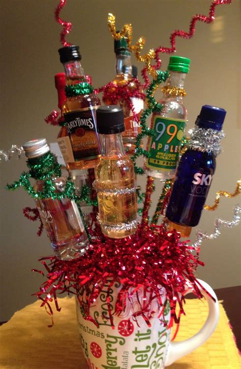 christmas exchange gifts for adults made this last for gift exchange for adults 12 mini bottles for 12 days