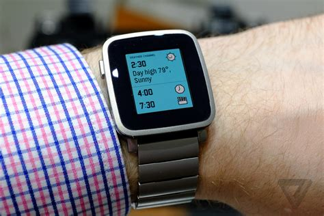 pebble time steel is a dressed up version of pebble s