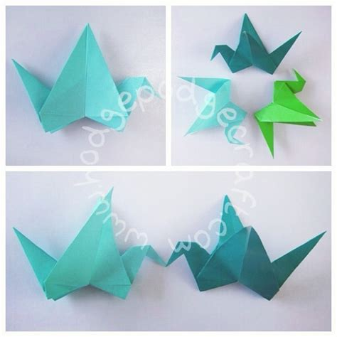Origami Bird With Flapping Wings - 25 best ideas about origami flapping bird on