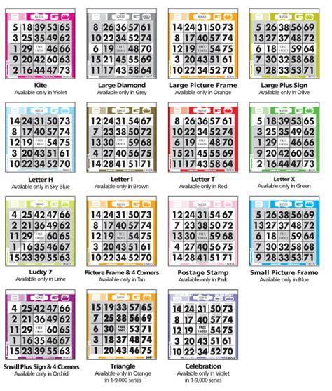 bingo pattern exles preprint pattern bingo paper cactus bingo supply
