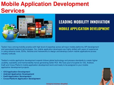 mobile application development services mobile application development services