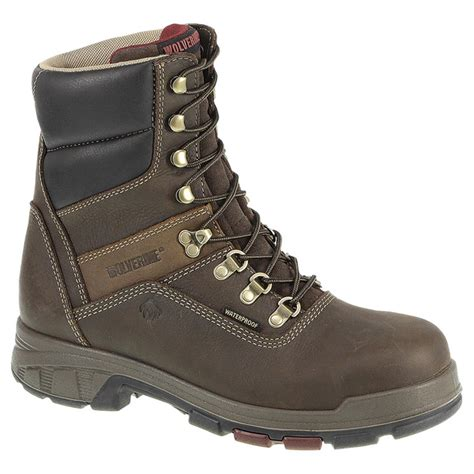 waterproof work boots for s wolverine 174 8 quot cabor epx waterproof work boots