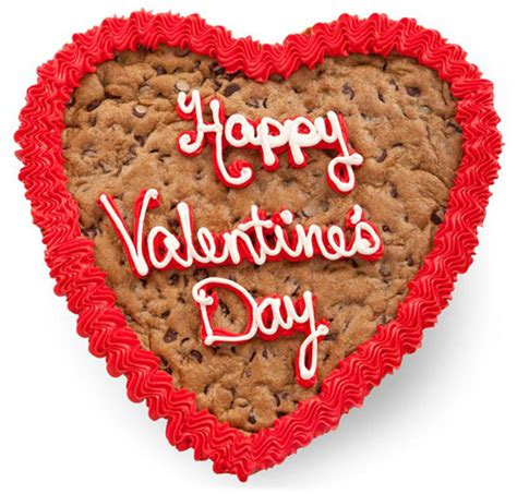 valentines cookie cakes send a cookie card for s day