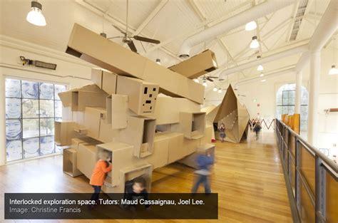 game design university australia cardboard artplay monash university architecture students